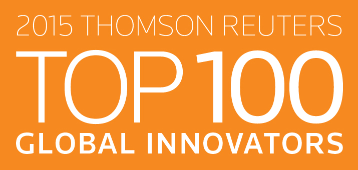 TOP 100 Global Innovators de Thomson Reuters 2015